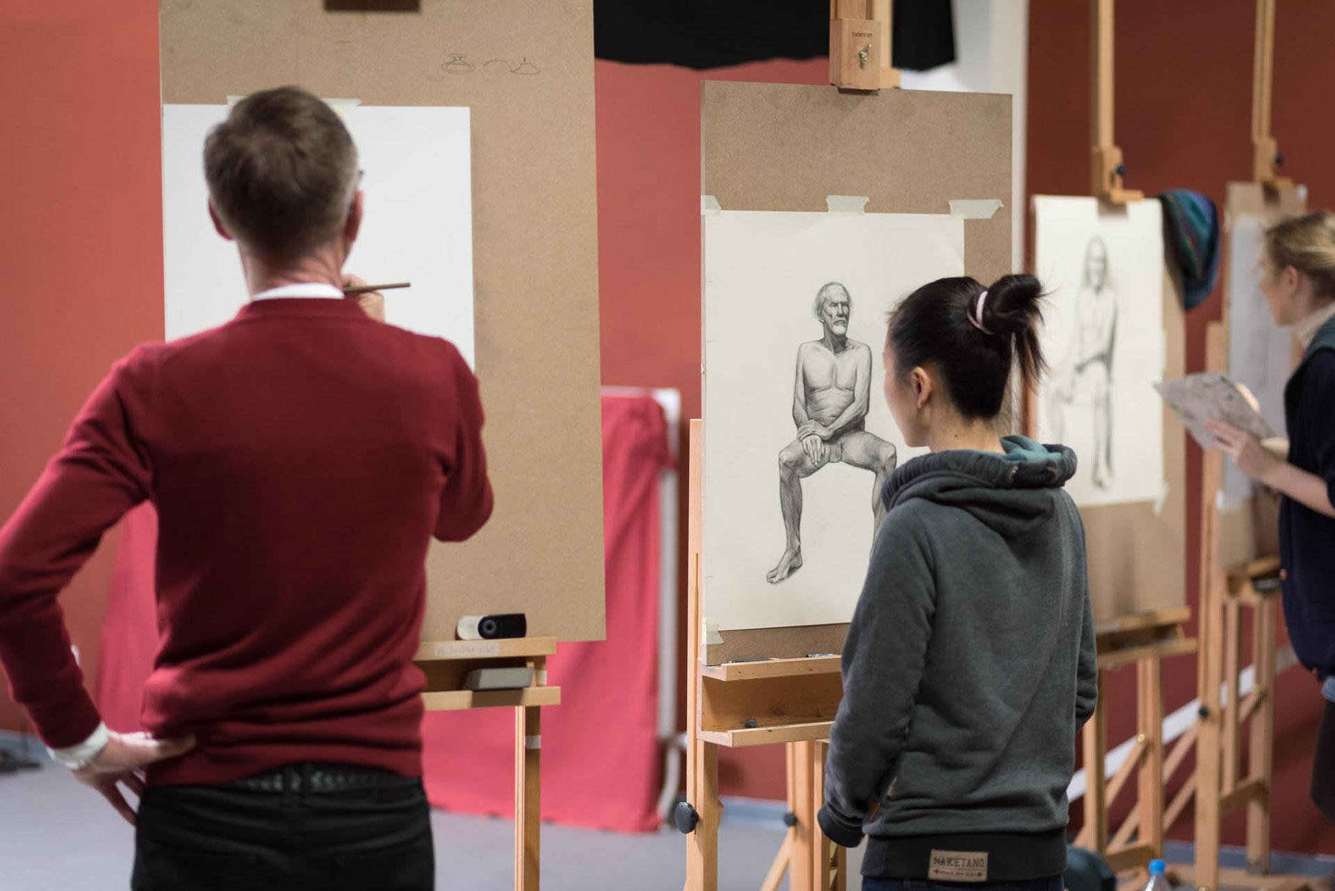 academy aktkurs 02 - Galerie