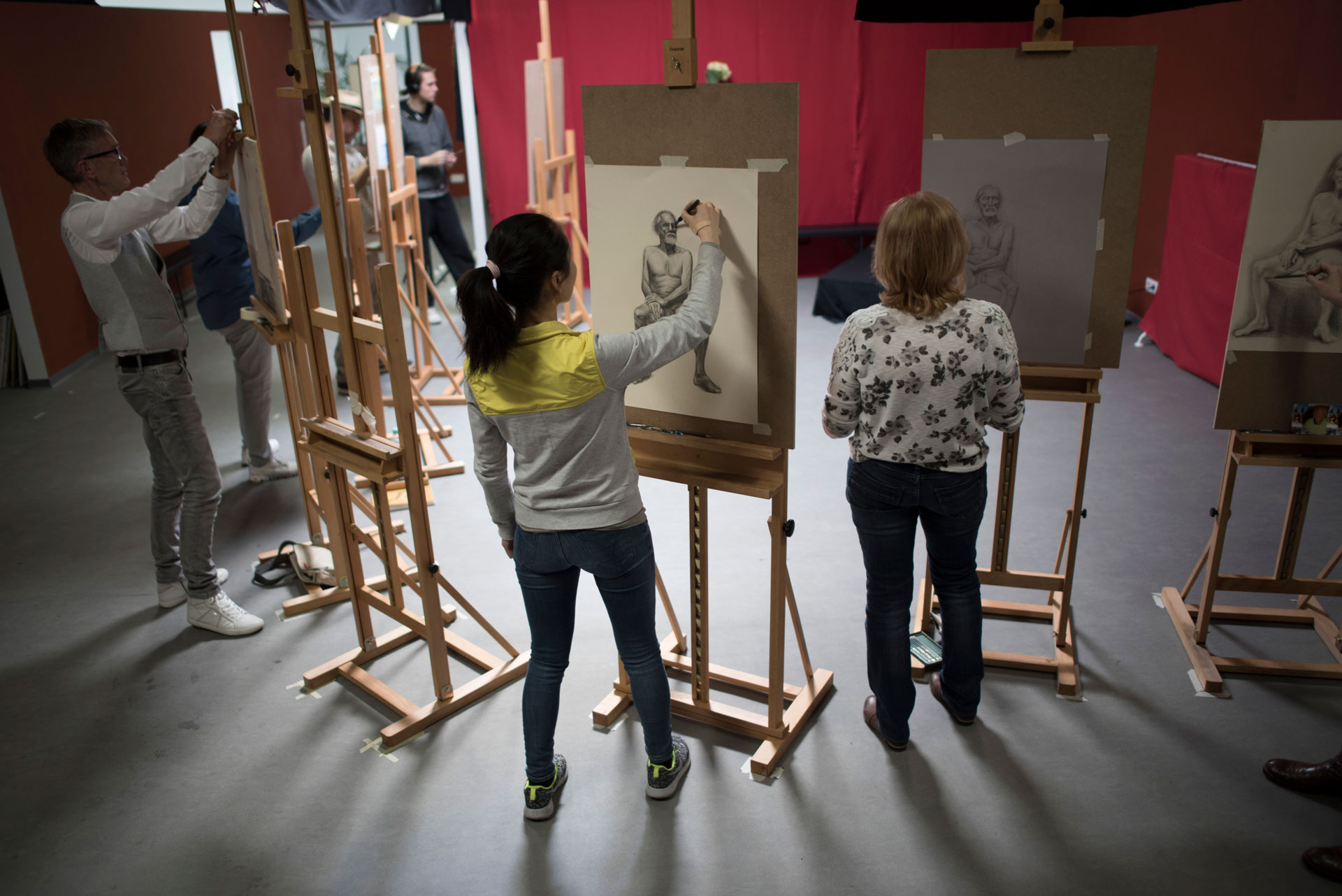 academy aktkurs 05 - Growing dissatisfaction among German art students - Interview