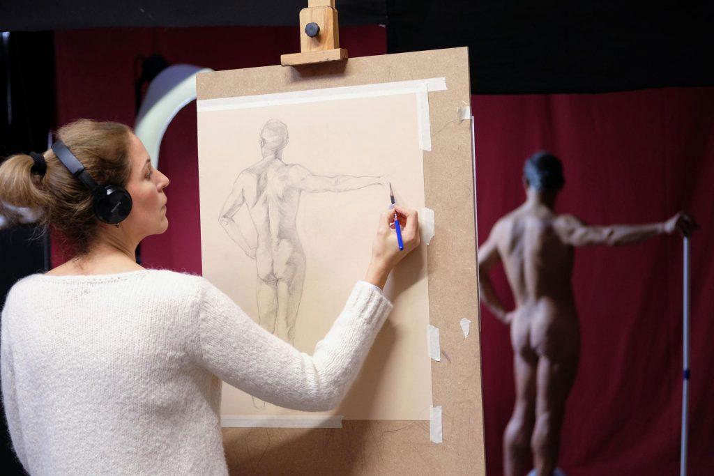 academy aktkurs zeichnung 01 1024x683 - Student Life