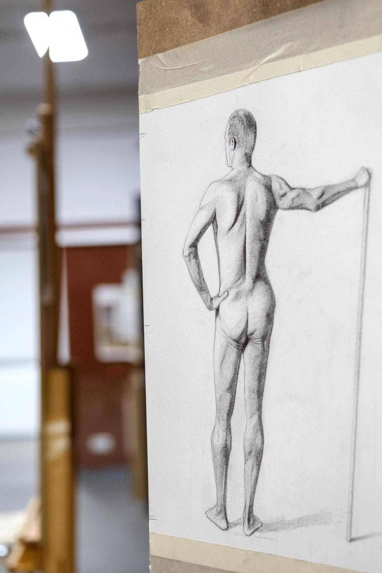 academy aktzeichnung 01 - Gallery