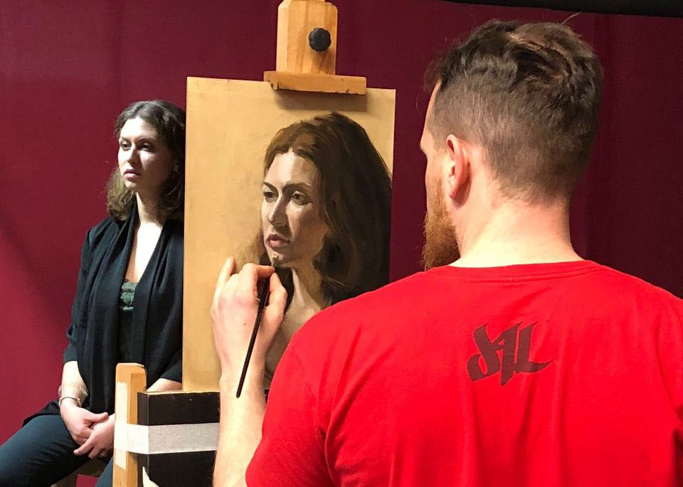 academy portraitkurs 02 1 e1529941452700 - Oil painting: Tips and Tricks for beginners