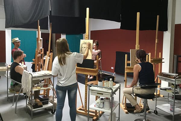 academy portraitkurs 02 - How to paint a portrait in oil- Mastering the supreme discipline!