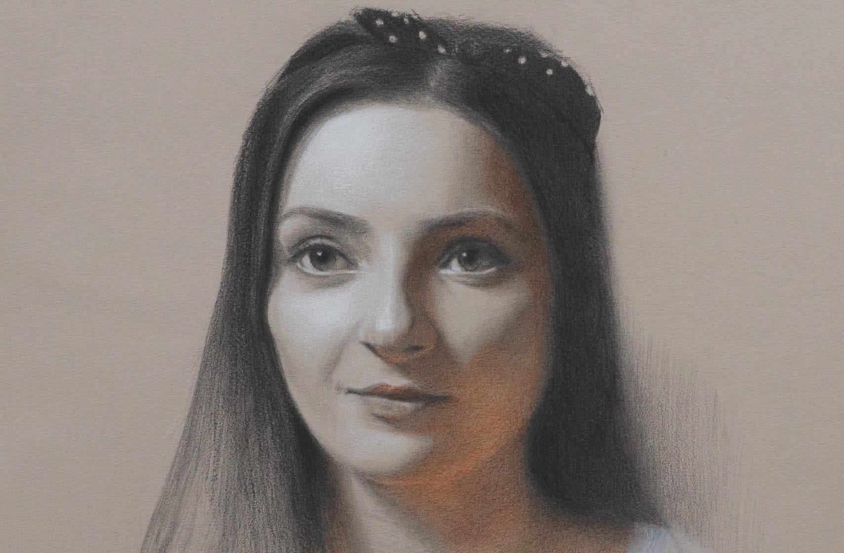 academy gesichter zeichnen lernen 01 - Portrait drawing