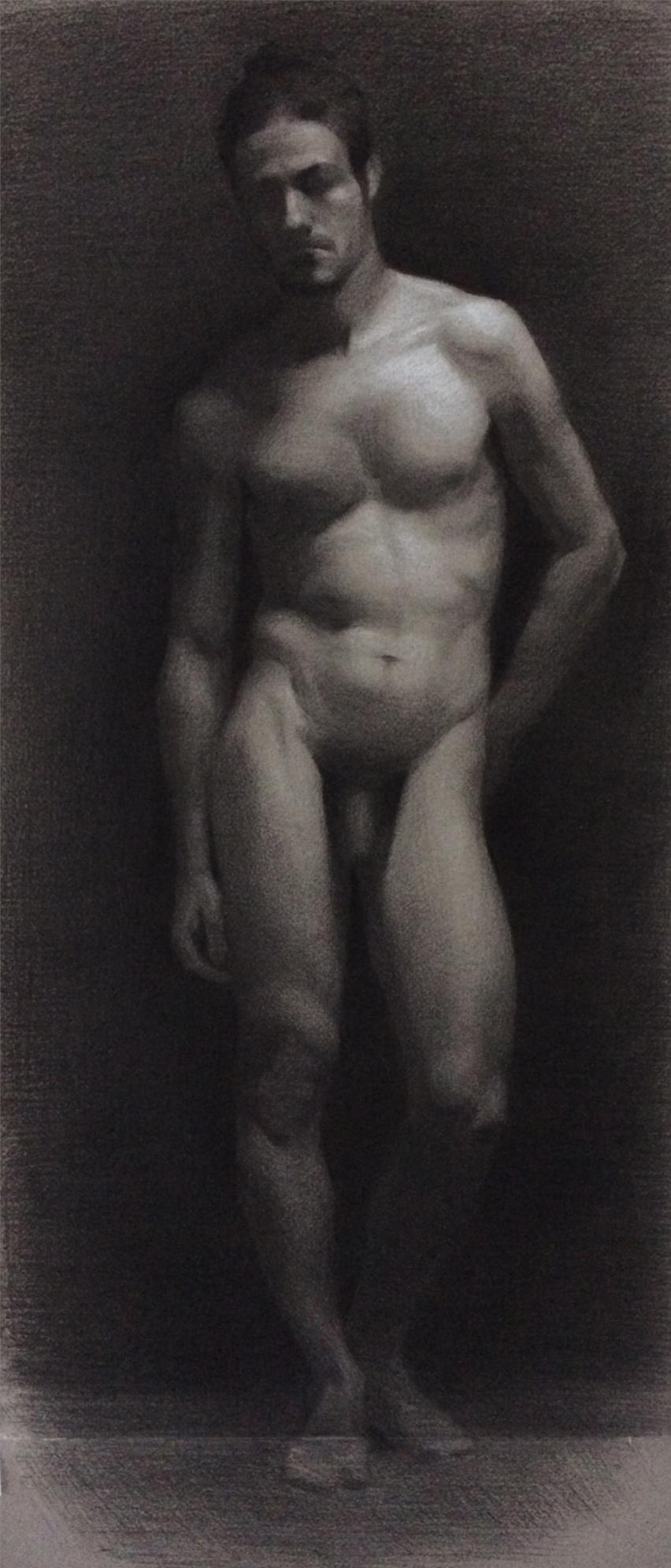 Ray desnudo mascuino - Gerard Millet (Lehrer)
