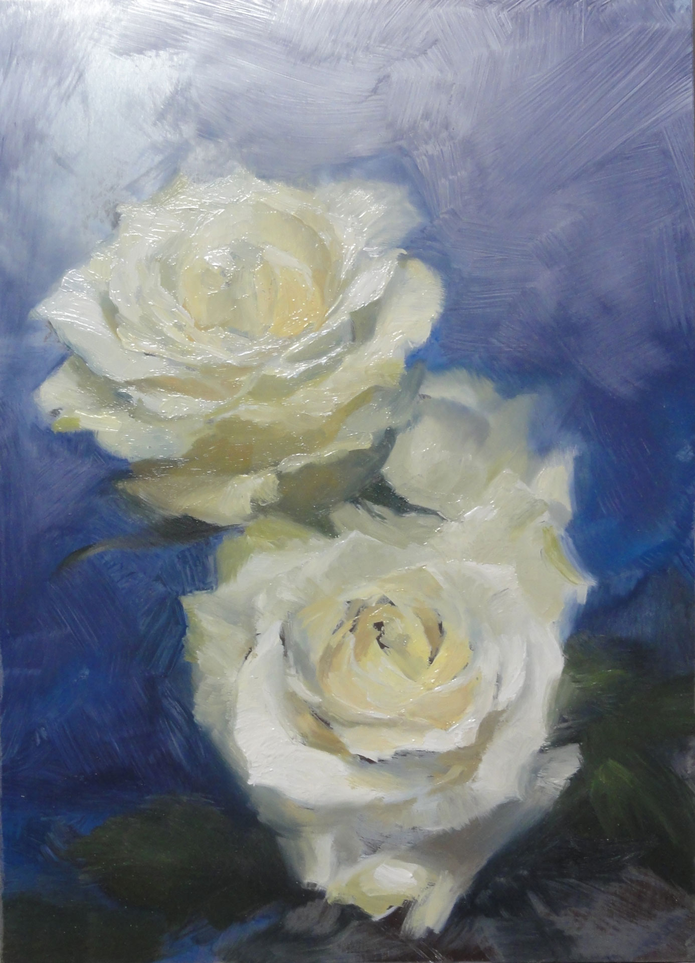 AISB 18P 002 White roses - Sahra Becherer (Teacher)
