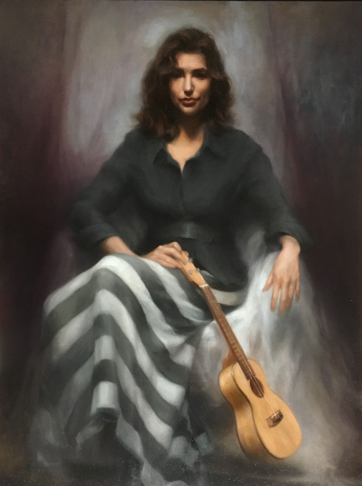 AISB 19P 005 A sleeping song Portrait of Phoebe - Sahra Becherer (Teacher)