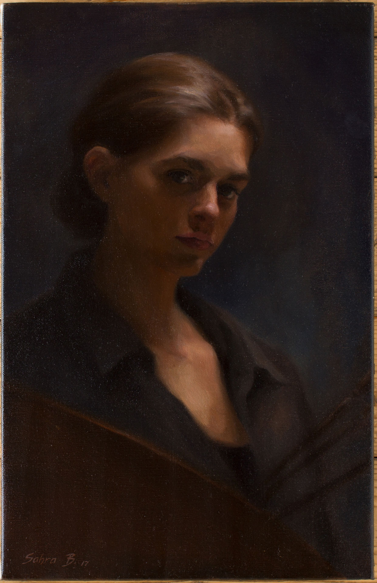 EOS 2103 Sahra Selfportrait - Sahra Becherer (Teacher)