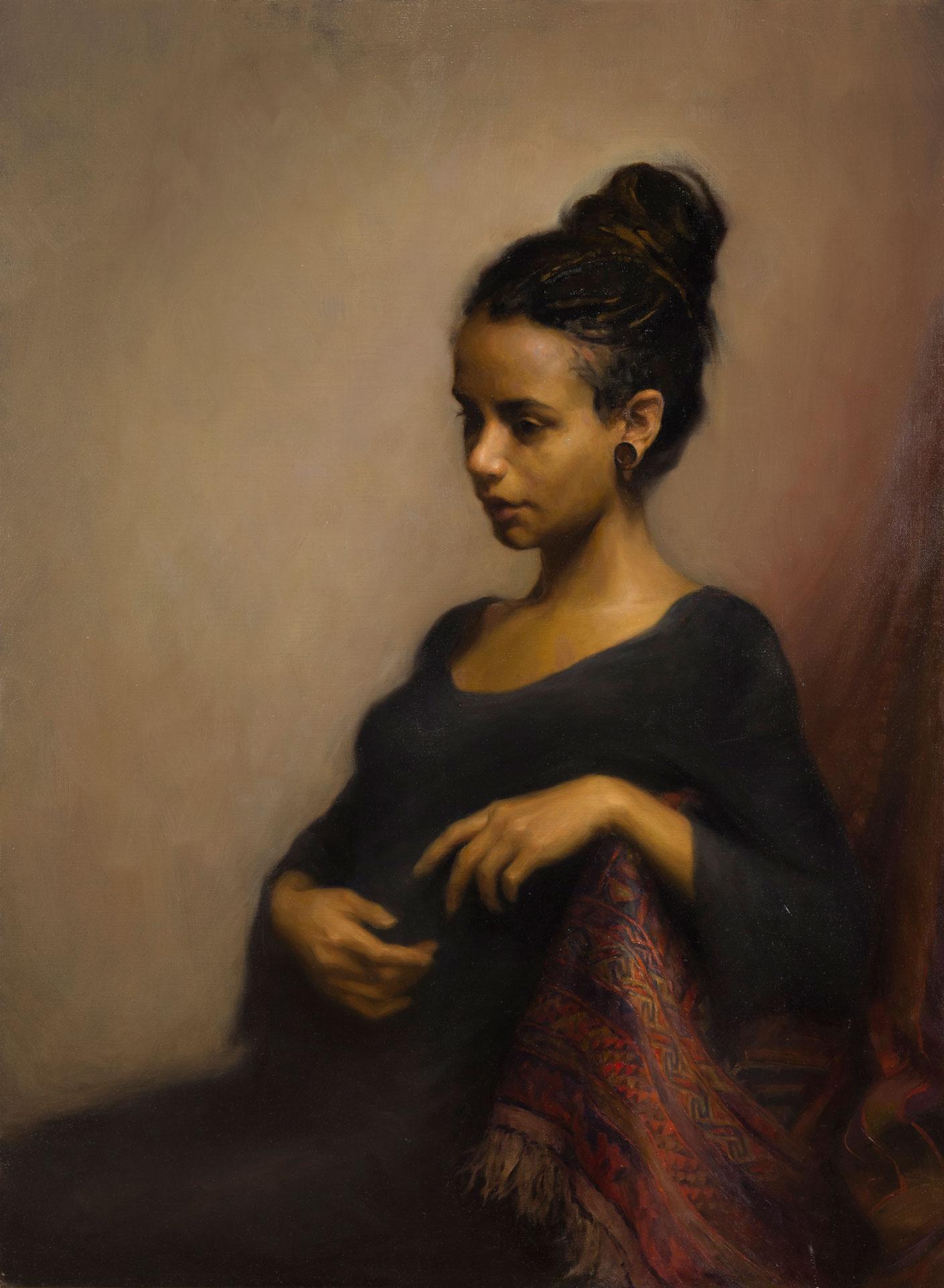 Portrait of Ambra Fall 2017 - Sahra Becherer (Teacher)
